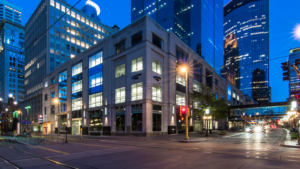 centerpoint energy's office at 5th and nicollet