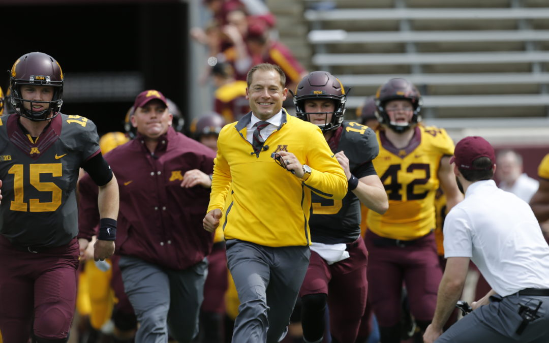 Gophers coach P.J. Fleck to Grand Marshal Aquatennial's CenterPoint Energy Torchlight Parade