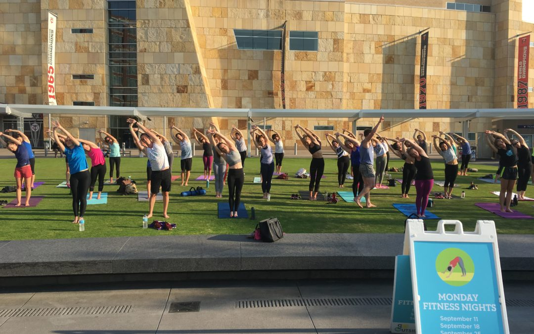 free outdoor Alchemy classes will wrap up Go Outside with Hennepin County fitness this year