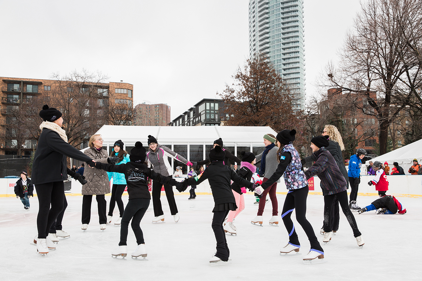 Wells Fargo Mpls WinterSkate Ceremonial Opening - mpls downtown council
