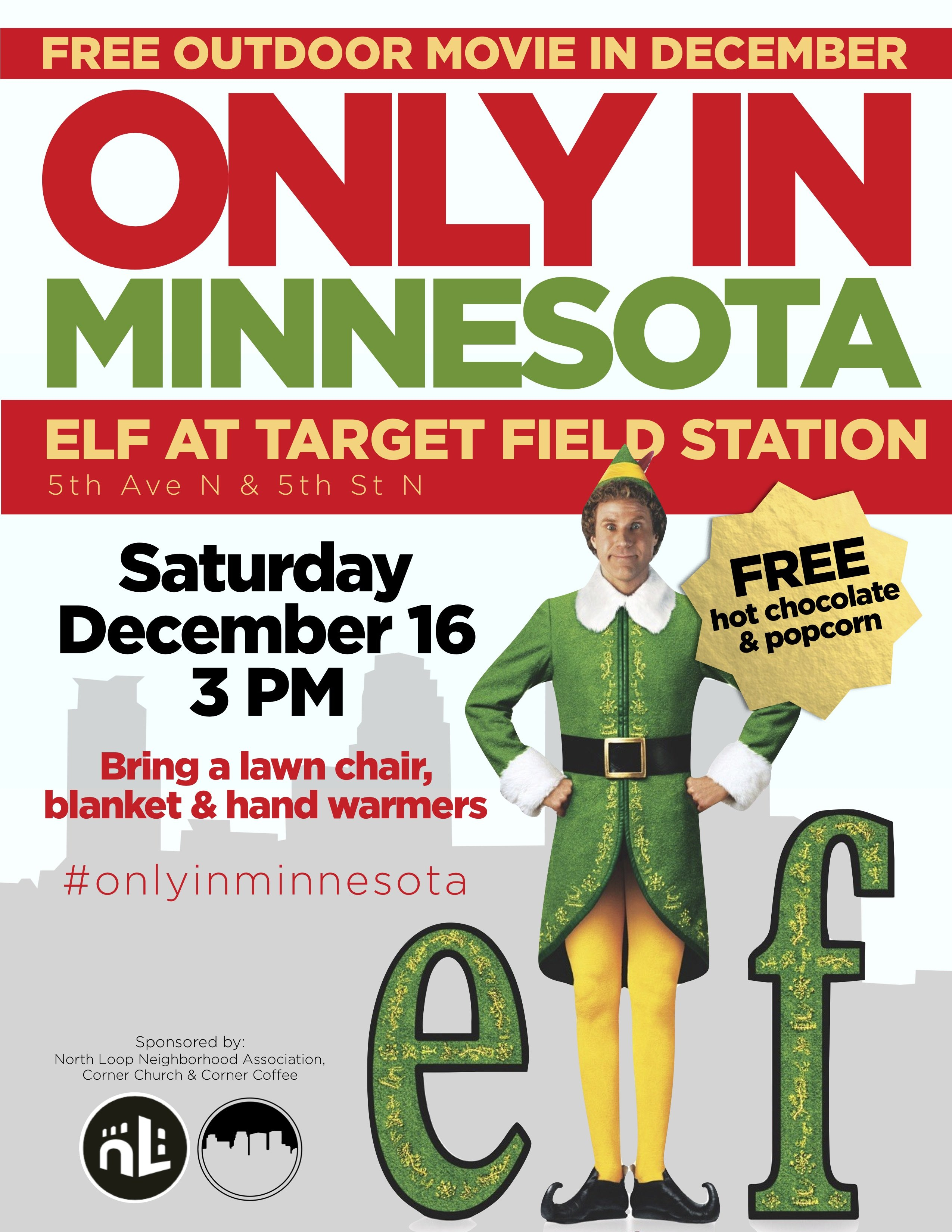 Elf' at Target Field Station - mpls downtown council