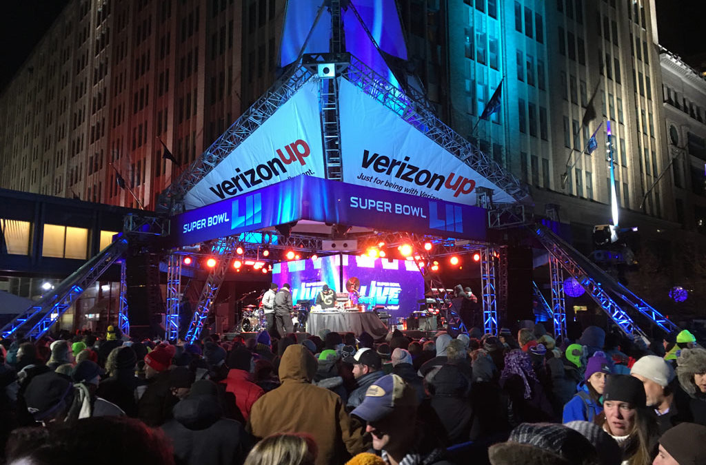 photos: Super Bowl Live on Nicollet