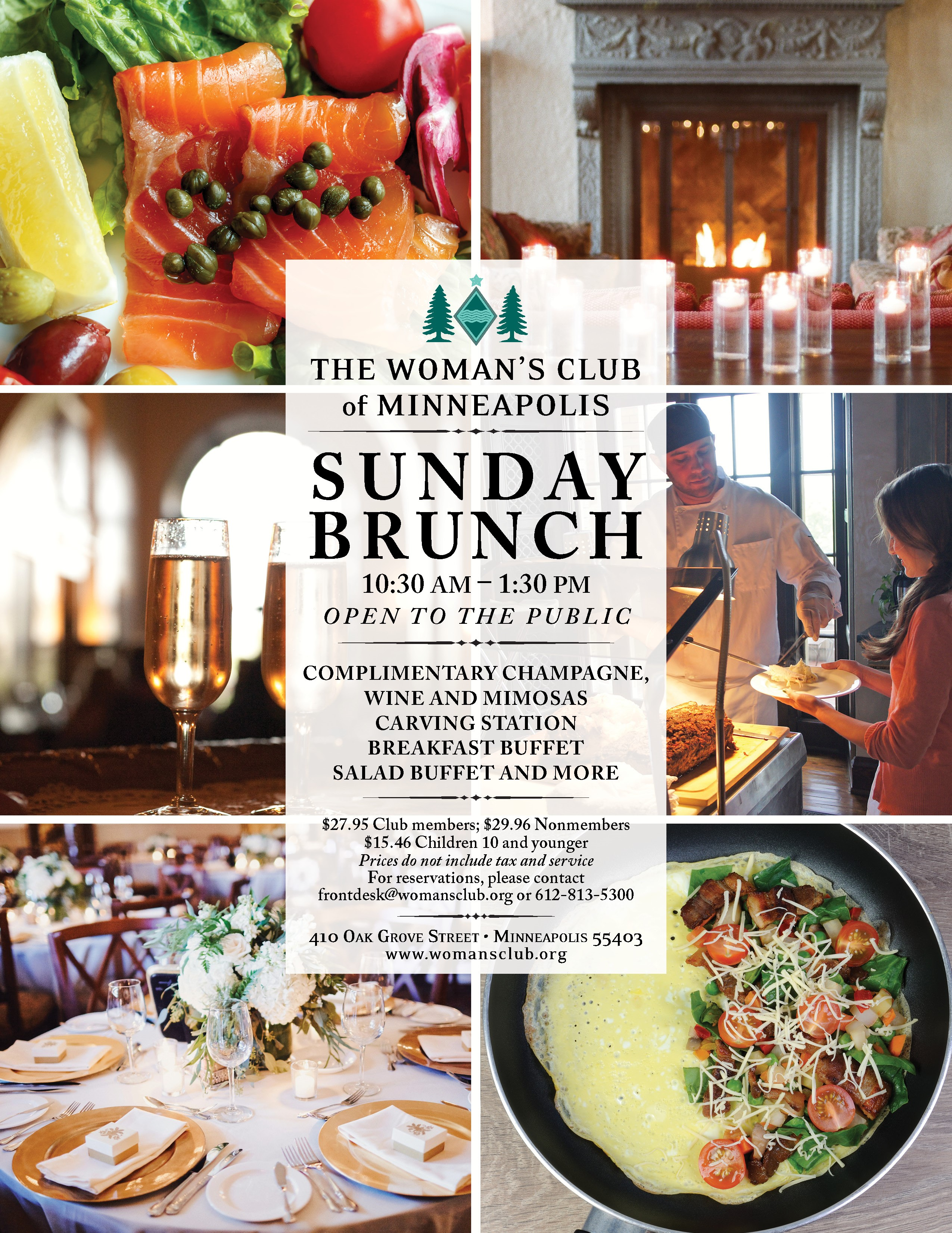 Sunday Brunch Buffet at The Woman's Club of Minneapolis ...