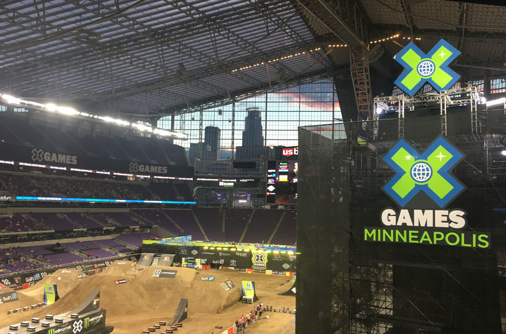 X Games returns to mpls, adds to big weekend downtown