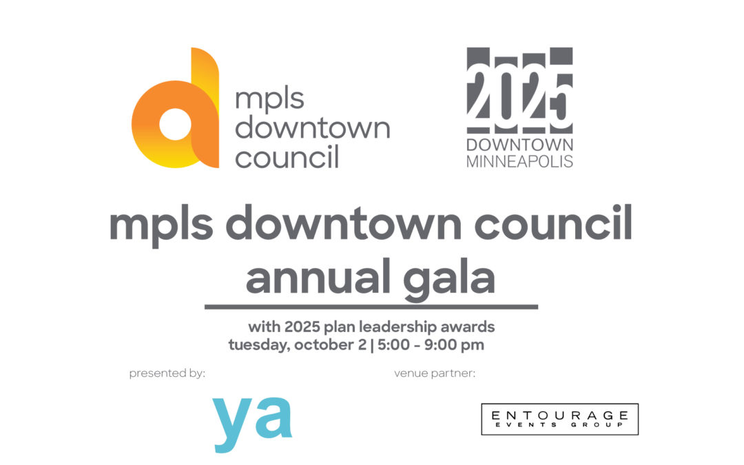 mpls downtown council gala featuring the 2025 plan leadership awards