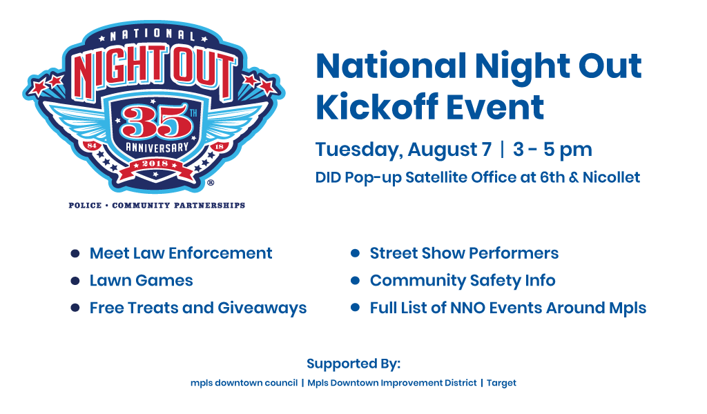 Joint Beats collaboration highlighted at annual National Night Out Kickoff event in downtown Minneapolis