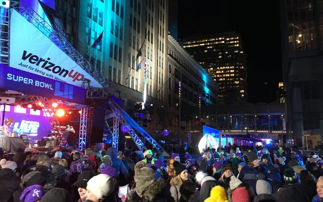 2025 plan impact award recipient: MN Super Bowl Host Committee activates downtown on the world's stage