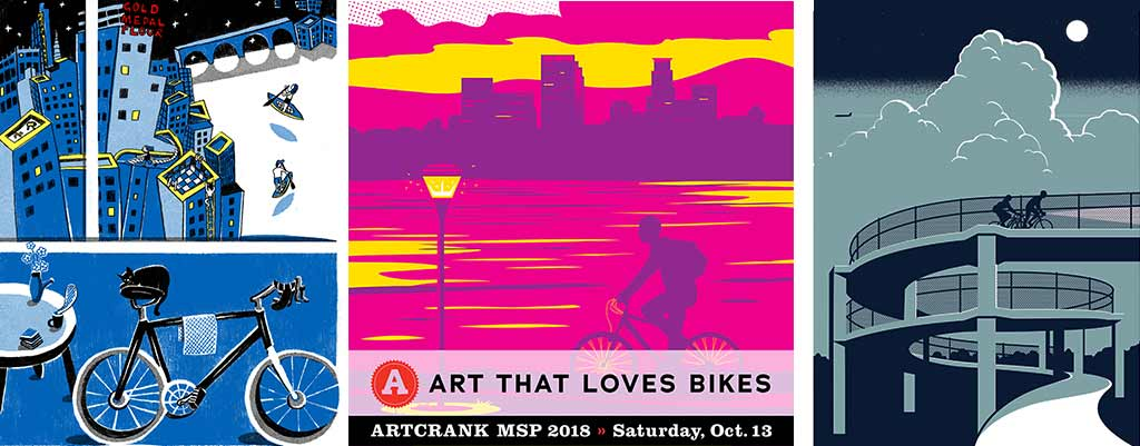 ARTCRANK returns to downtown mpls, takes place Saturday, October 13 at IDS Center