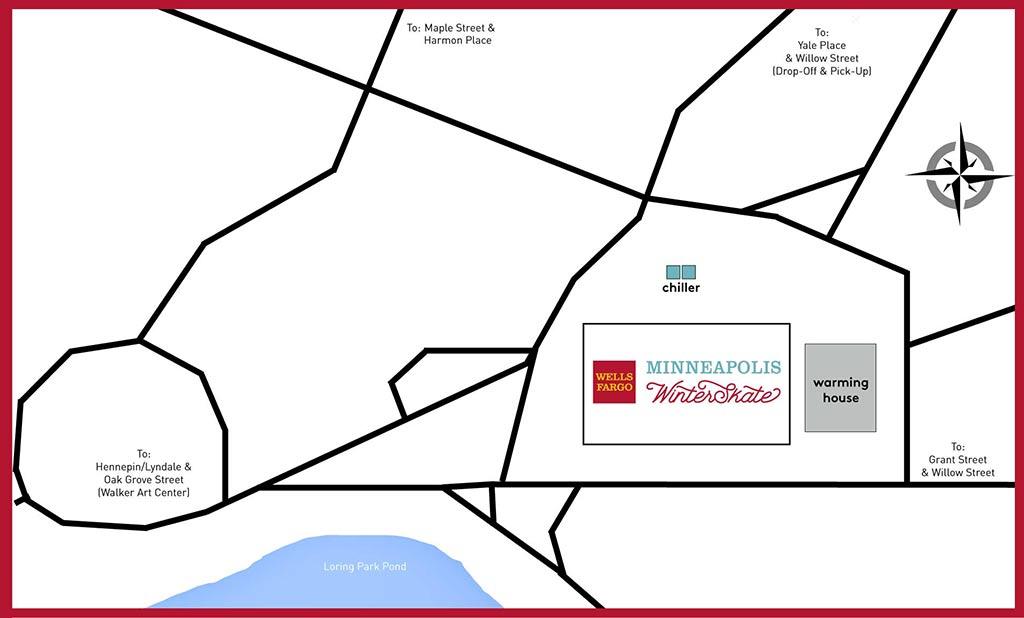 wells fargo mpls winterskate information - mpls downtown council