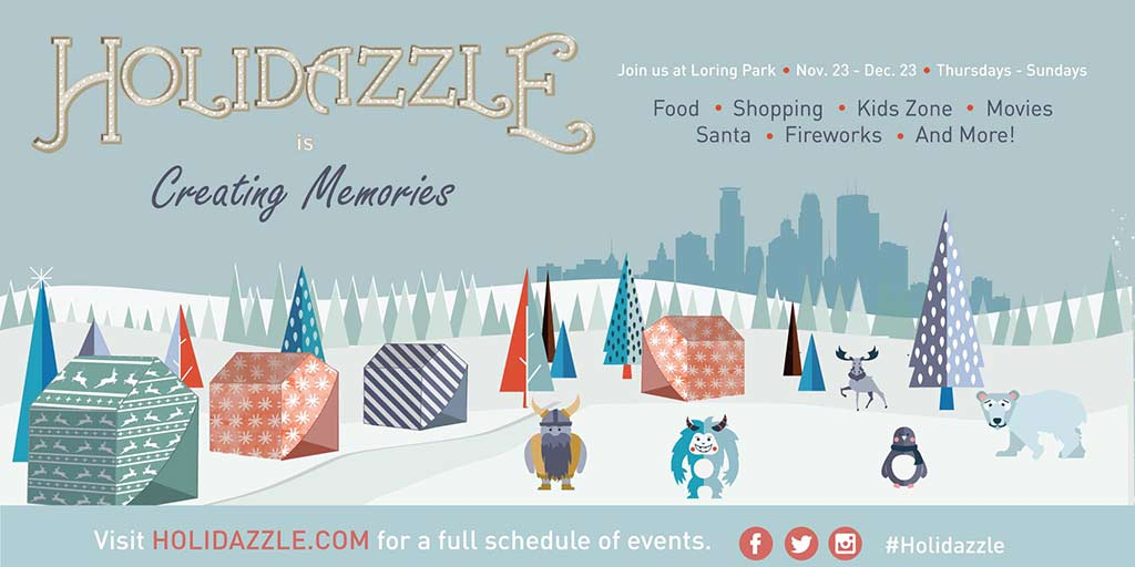 Holidazzle kicks off 2018 season in Loring Park on Friday, November 23