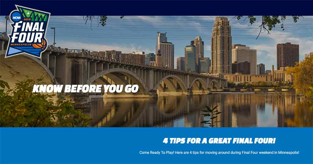 Know Before You Go: plan your trip to the Final Four festivities