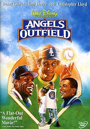 outdoor movie night: Angels in the Outfield