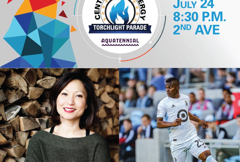 James Beard winner Ann Kim, Minnesota United's Darwin Quintero to Grand Marshal Aquatennial's CenterPoint Energy Torchlight Parade