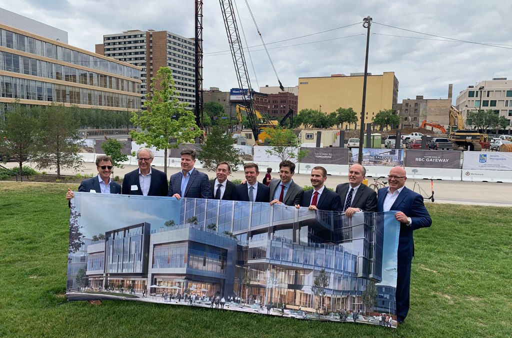RBC Gateway Project breaks ground on Nicollet