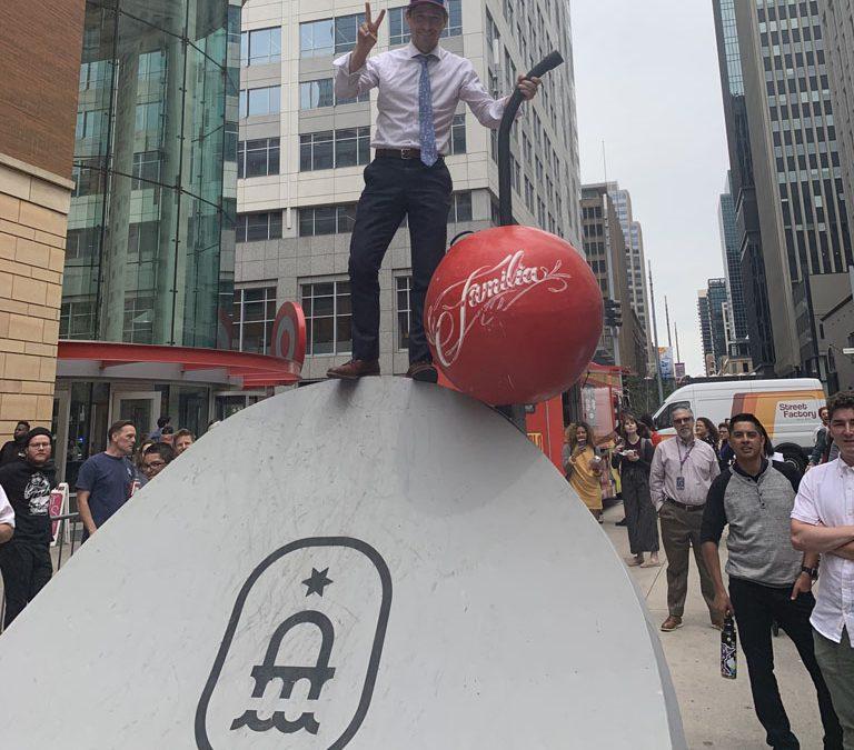 X Games, local skateboarding organizations host Go Skateboarding Day on Nicollet
