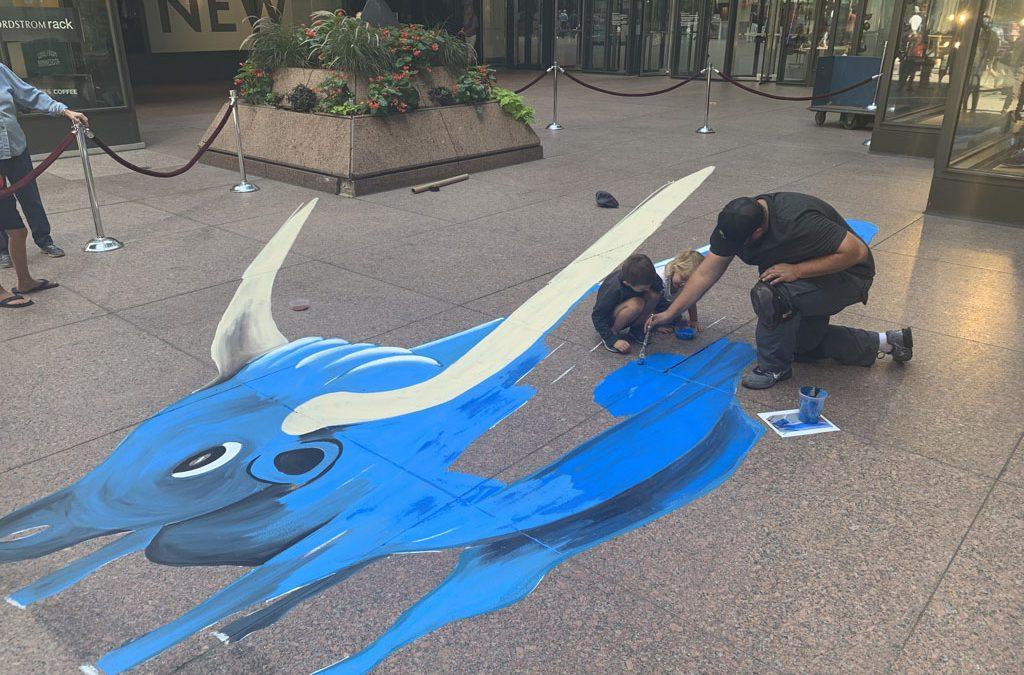 photos: downtown minneapolis street art festival on aug. 15-17