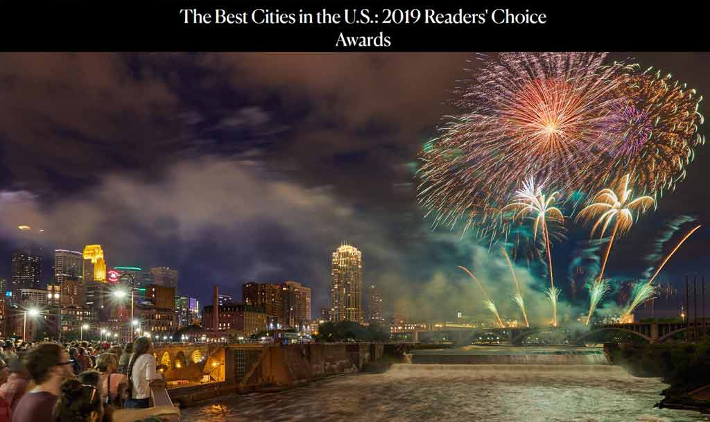 "minneapolis voted #2 ""Best Big City"""