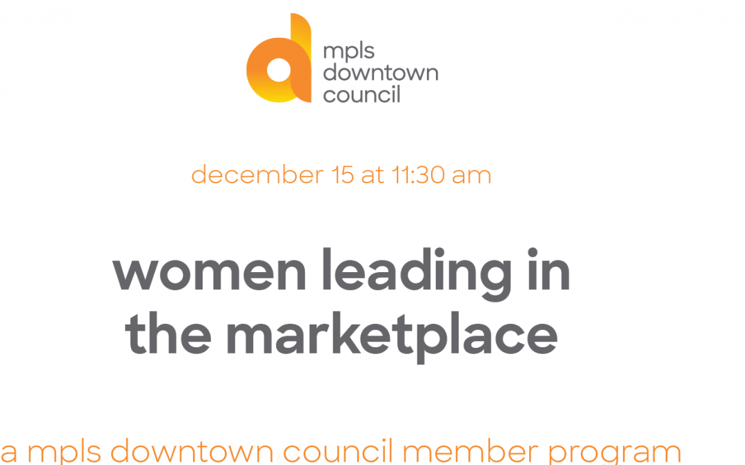 women leading in the marketplace