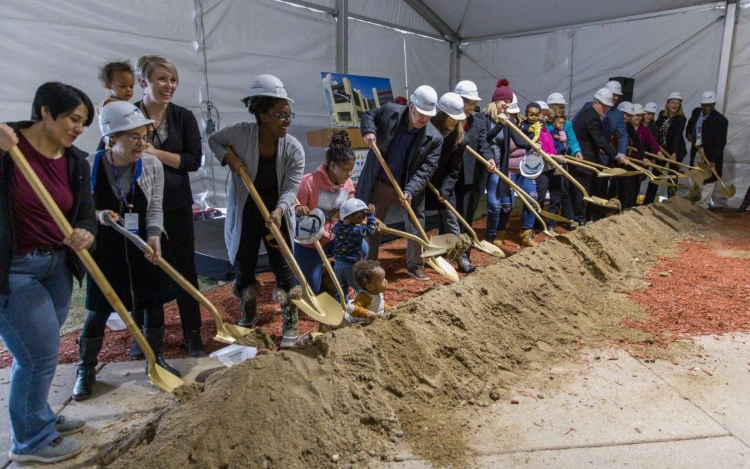 Hennepin Healthcare Breaks Ground on healing center for expectant and new moms