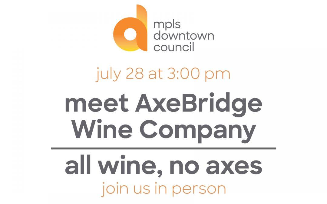 meet AxeBridge Wine Company | all wine, no axes